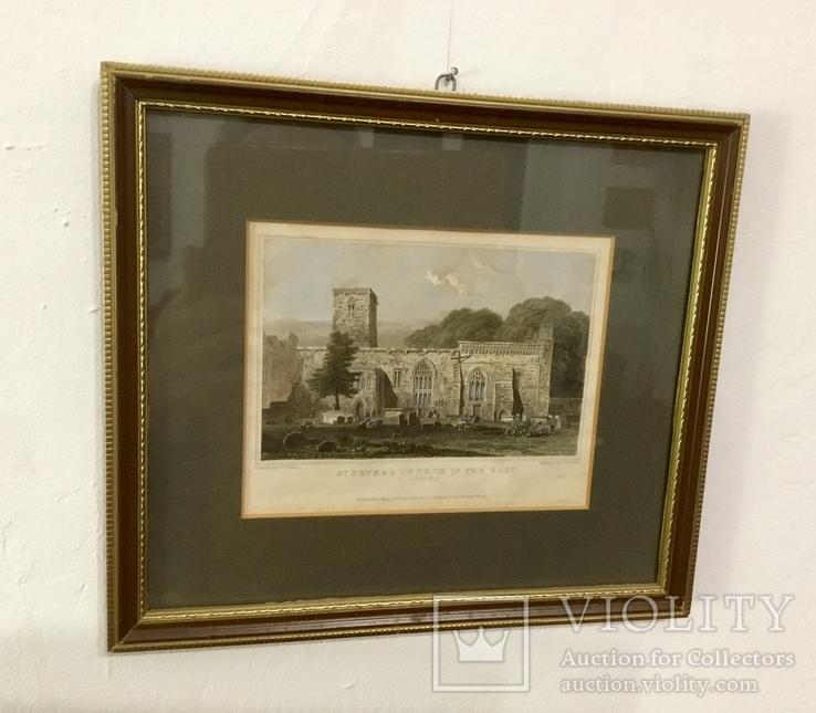 Картина Церковь Святого Петра OXFORD 21x24 cm