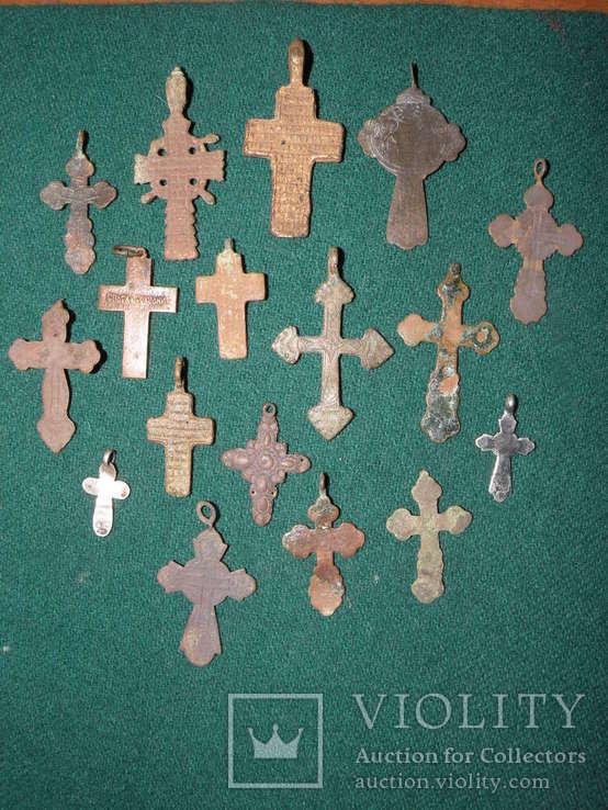 Лот крестиков (17 шт), фото №4