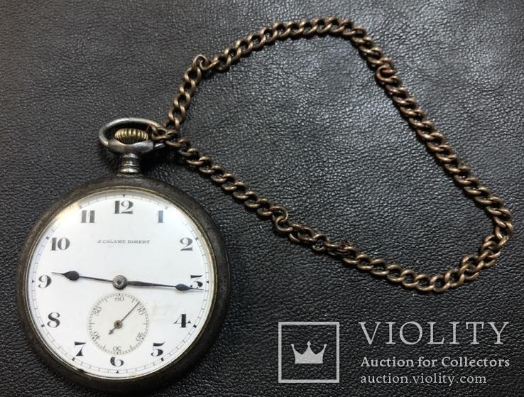 Карманные часы J. CALAME ROBERT, фото №2