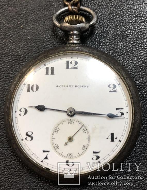 Карманные часы J. CALAME ROBERT, фото №3