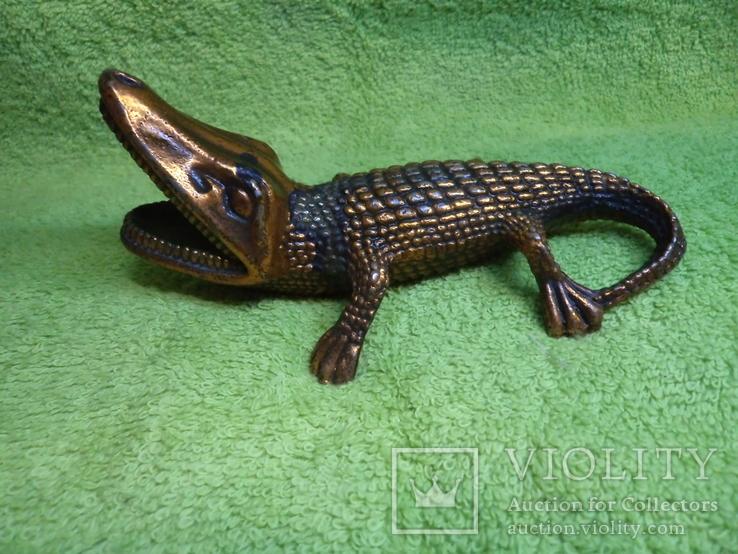 Пепельница Крокодил, фото №3
