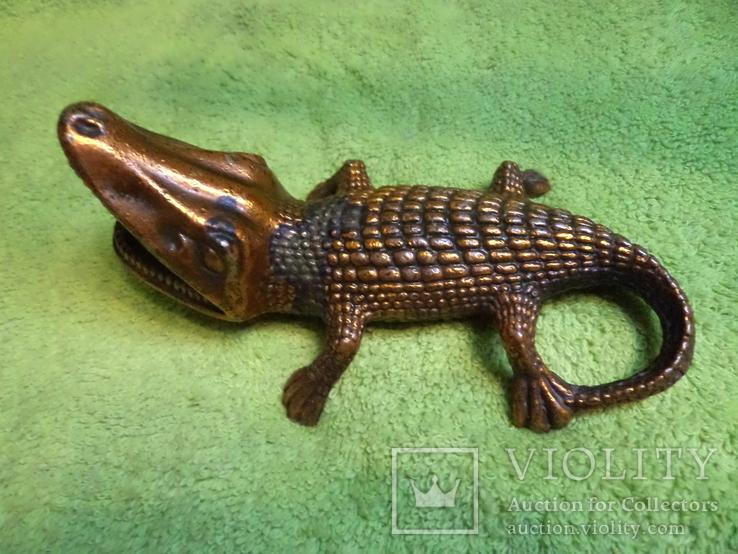 Пепельница Крокодил