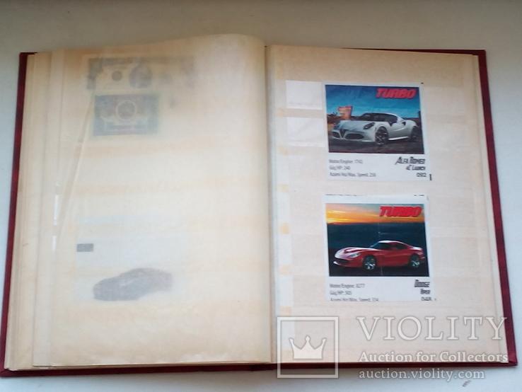 Альбом кляссер с вкладышами, фото №4