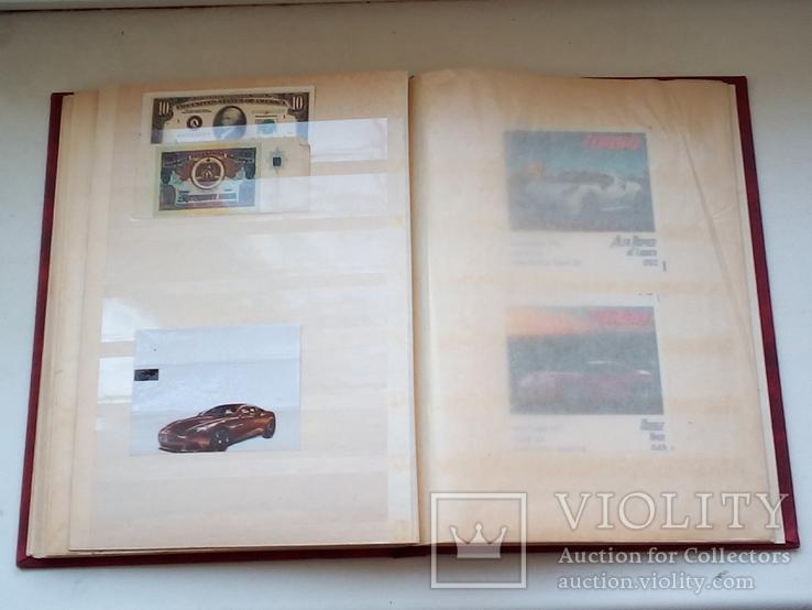 Альбом кляссер с вкладышами, фото №7