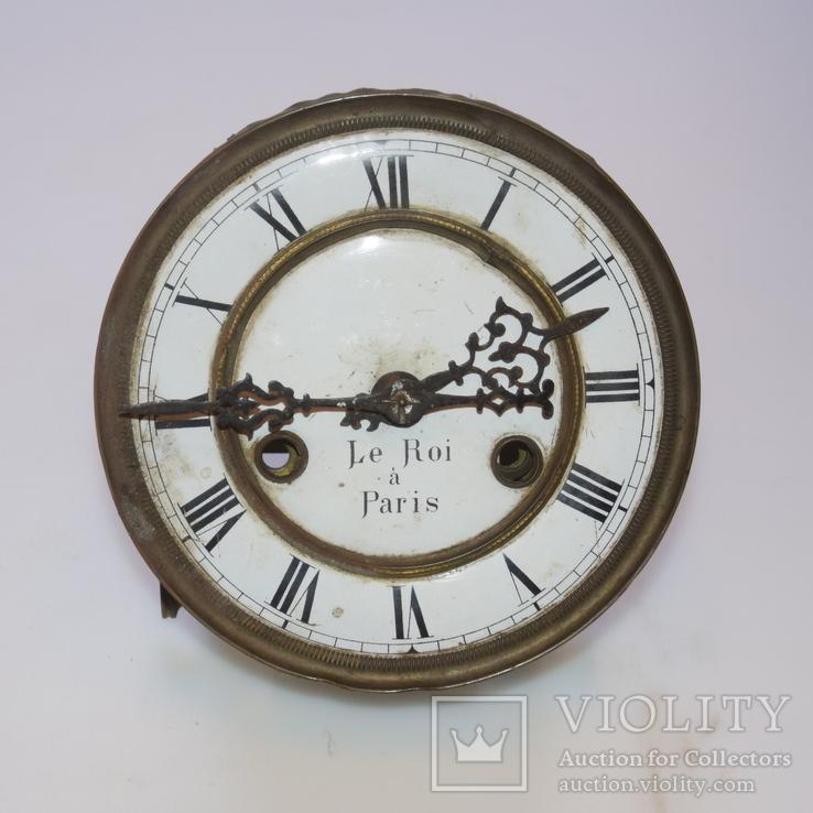 Циферблат с механизмом(без боя) от часов Le Roi a Paris