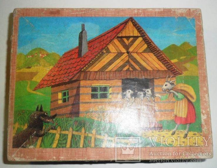 Игрушка кубики СССР русские народные сказки, фото №2