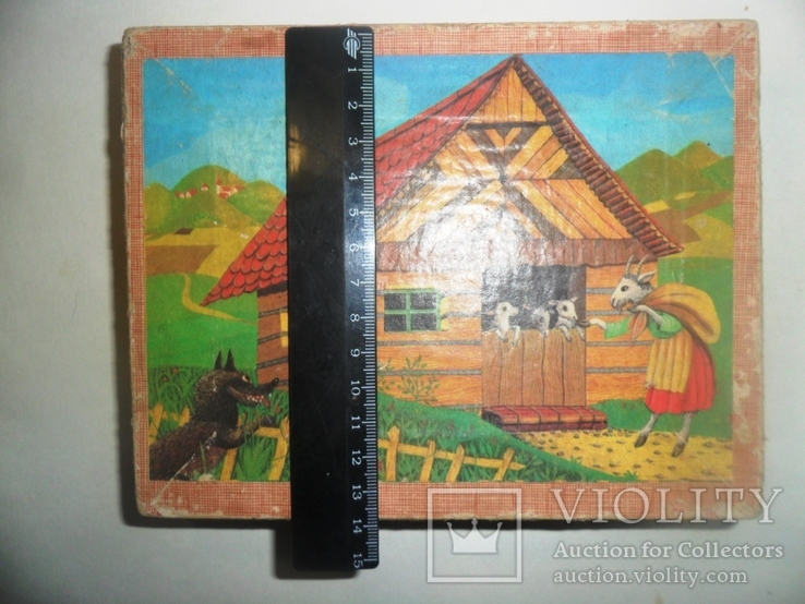 Игрушка кубики СССР русские народные сказки, фото №7
