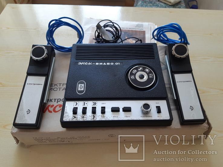 Игровая приставка Электроника Экси видео 01, фото №3