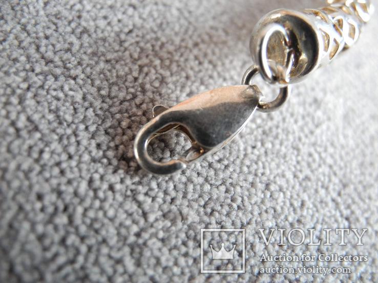 Серебряное ожерелье (серебро 925 пр, вес 29 гр), фото №10