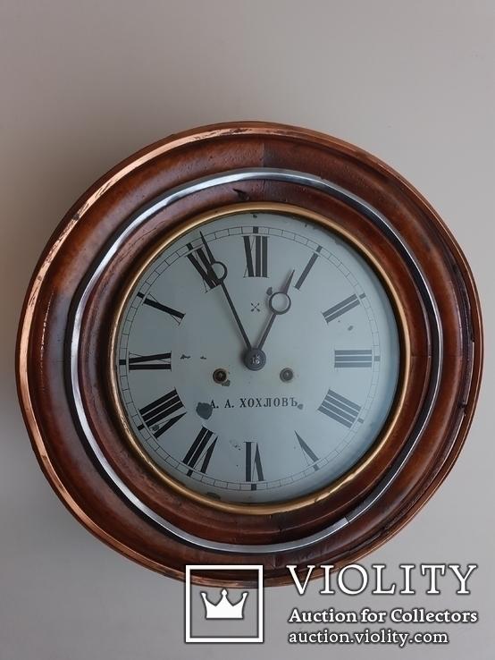 Большие часы Александр Александрович Хохловь