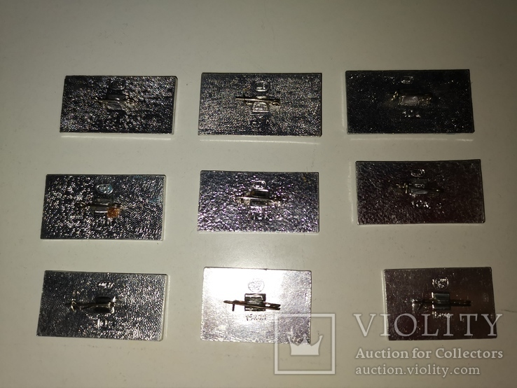 Набор значков авиация #3. 1, фото №3