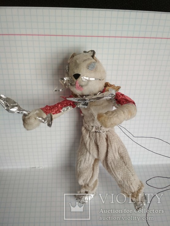 Старая елочная игрушка из ваты, фото №3