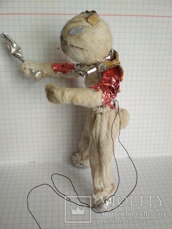 Старая елочная игрушка из ваты, фото №4