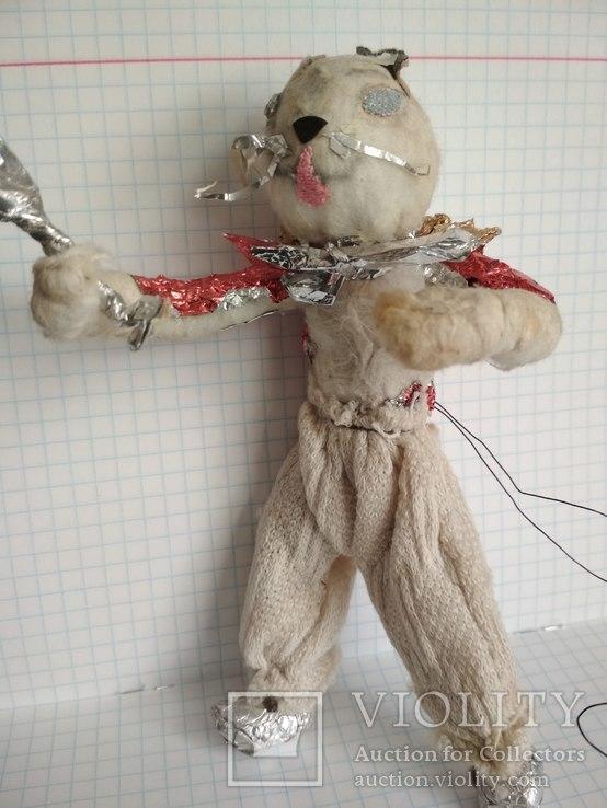 Старая елочная игрушка из ваты, фото №2