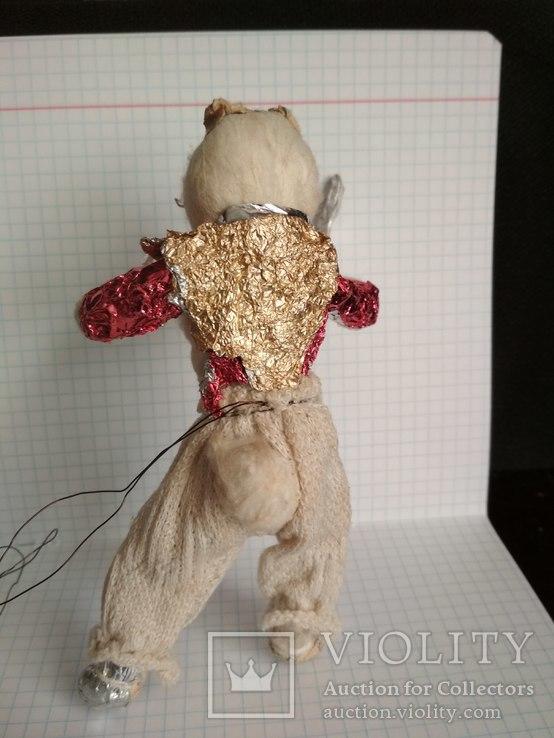 Старая елочная игрушка из ваты, фото №8