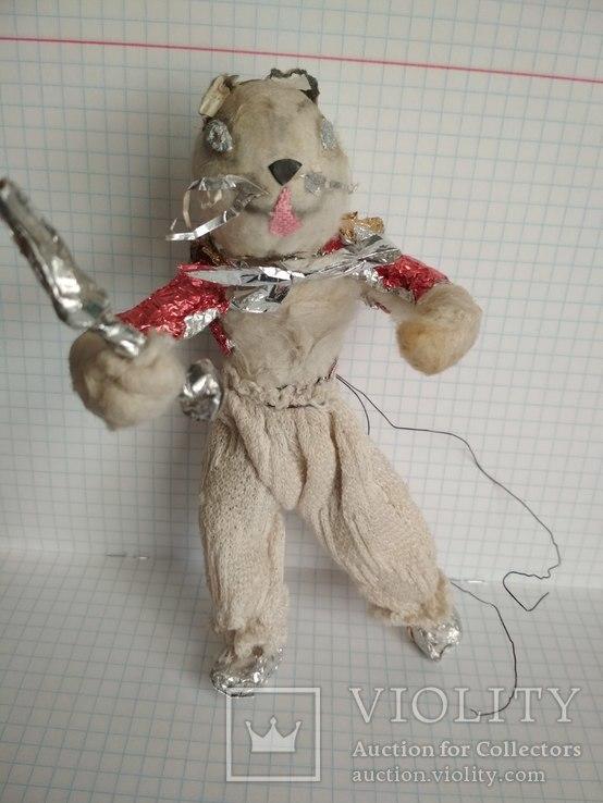 Старая елочная игрушка из ваты, фото №9