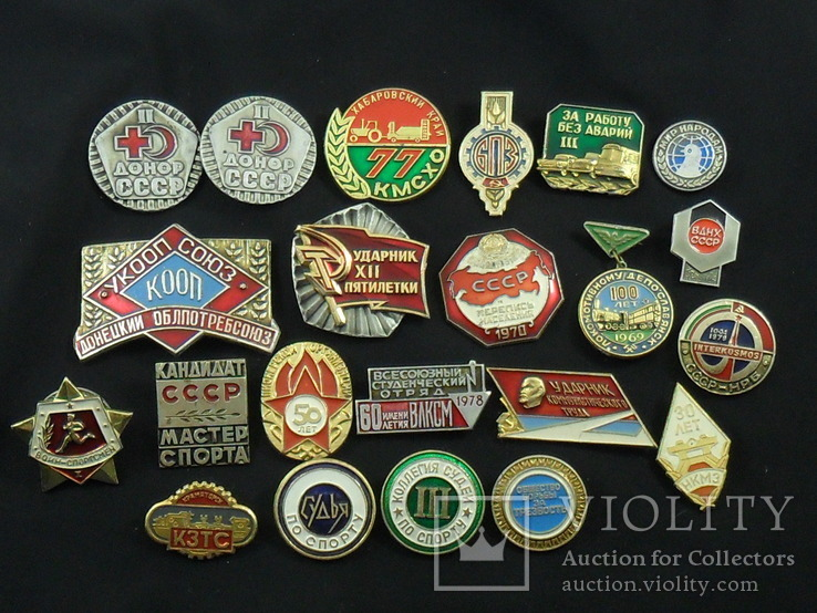 Значки на разную тематику 100 шт., фото №5