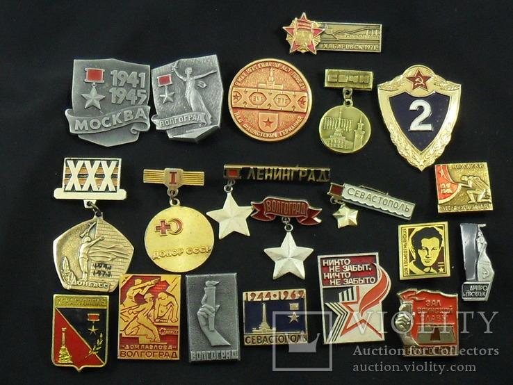 Значки на разную тематику 100 шт., фото №6