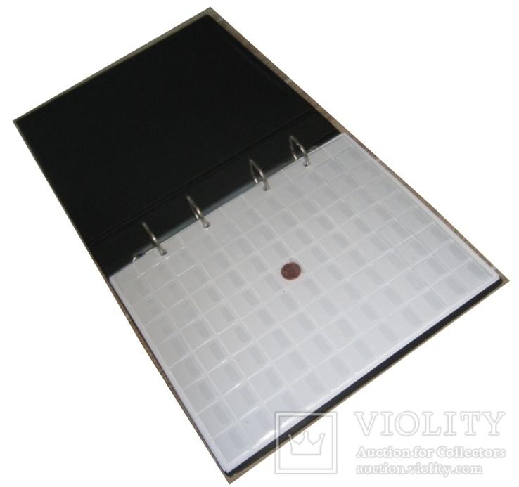 Альбом для монет в футляре Fischer SuperMix на 1044 монеты, фото №3