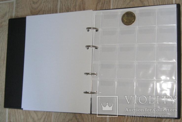 Альбом для монет в футляре Fischer SuperMix на 1044 монеты, фото №6