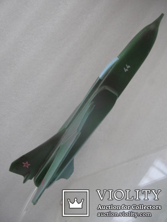 Модель истребителя МиГ ручной работы времён СССР., фото №4