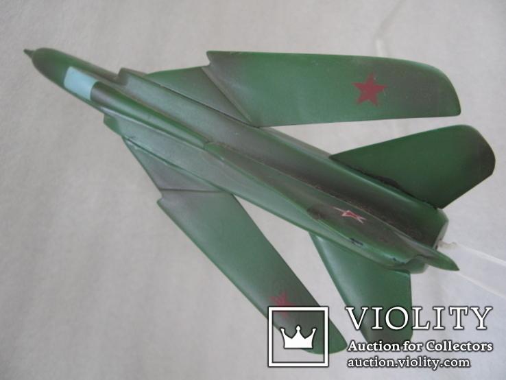 Модель истребителя МиГ ручной работы времён СССР., фото №7
