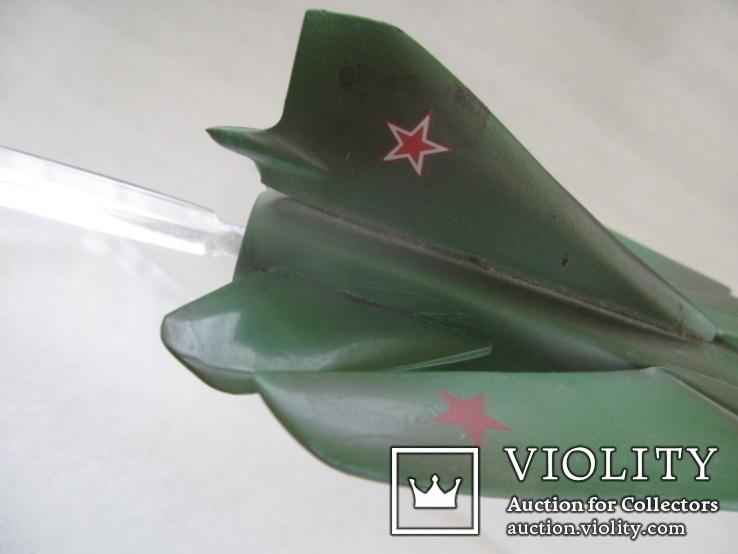 Модель истребителя МиГ ручной работы времён СССР., фото №10