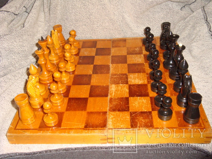 Шахматы из дерева, фото №4