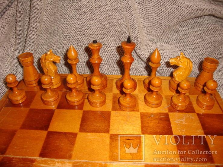Шахматы из дерева, фото №8