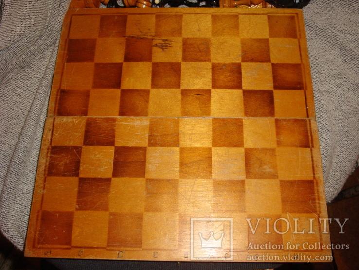 Шахматы из дерева, фото №13