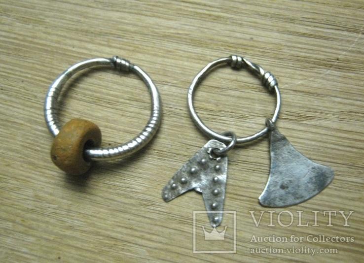 Височные кольца ч.к., фото №2
