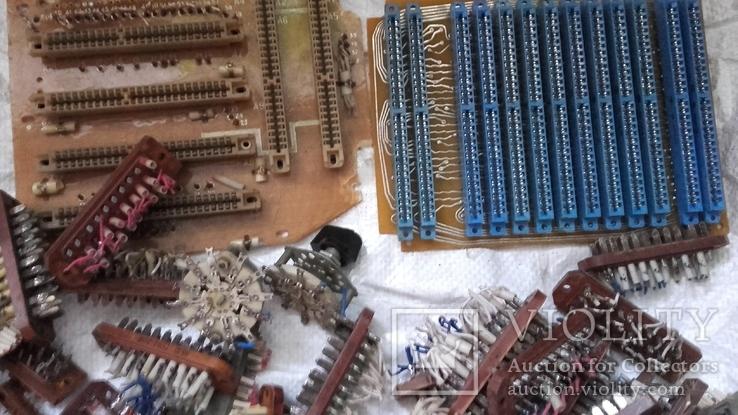Посеребрянка 11.5 кг,разъёмы,контакты,переключатели и др., фото №5