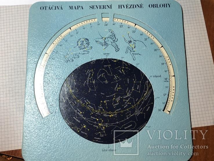 Атлас звездного неба (формат пластинки), фото №3