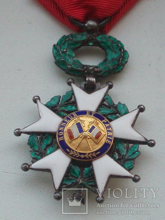 Орден Почетного легиона Франция серебро, фото №6
