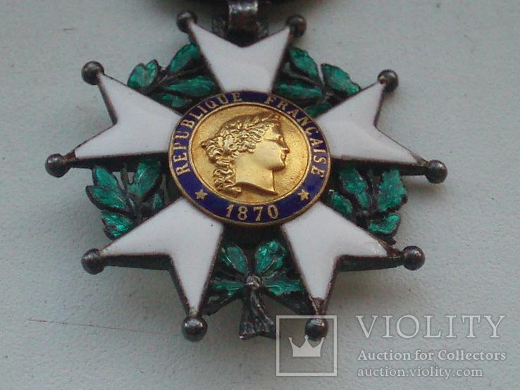 Орден Почетного легиона Франция серебро