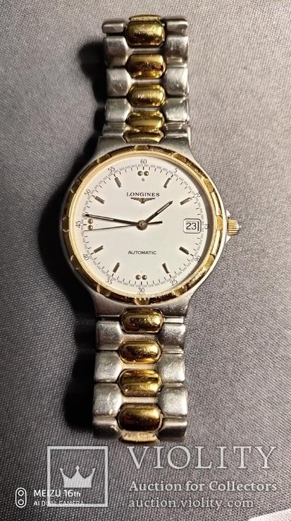 Часы мех Longines мод.conquest,swiss, фото №3