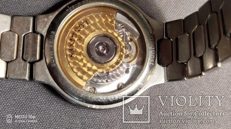 Часы мех Longines мод.conquest,swiss, фото №7