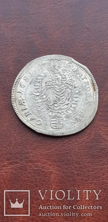15 крейцеров 1689 г. Венгрия, фото №5