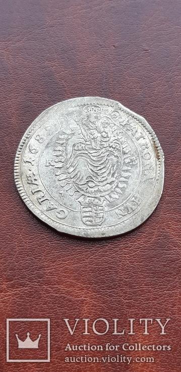 15 крейцеров 1689 г. Венгрия, фото №6