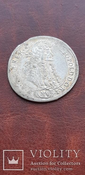 15 крейцеров 1689 г. Венгрия, фото №8
