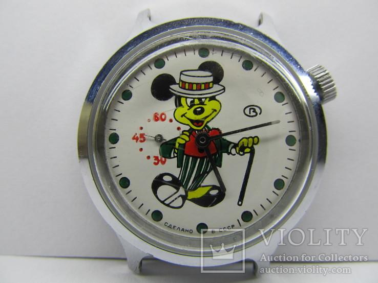 Восток - боковая секундная стрелка, Микки Маус, СССР, идут