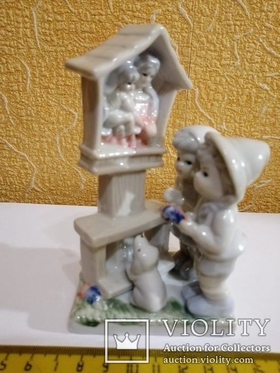 Фарфоровая статуэтка Молитва, фото №10
