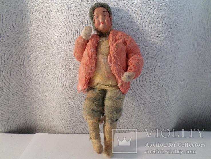 Елочная игрушка мальчик в костюме . 1920 - 1930 гг .