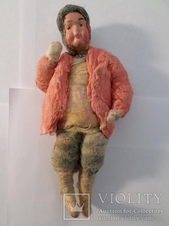 Елочная игрушка мальчик в костюме . 1920 - 1930 гг ., фото №3