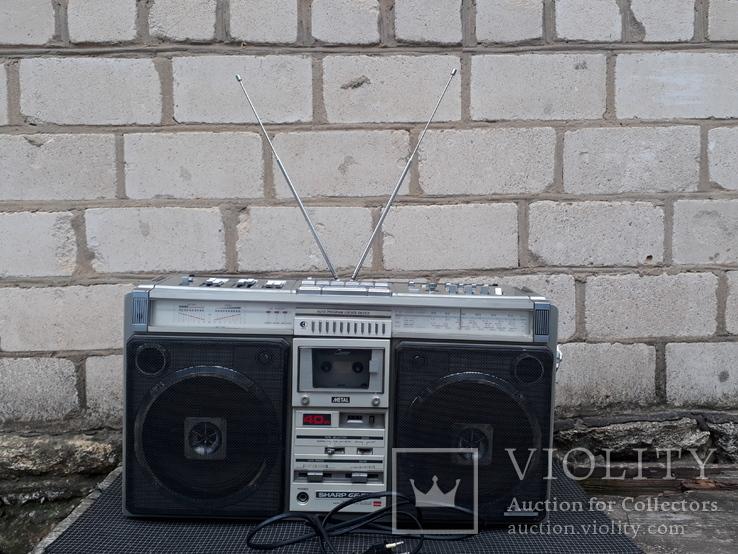 Магнитола SHARP 9696, играет, фото №13