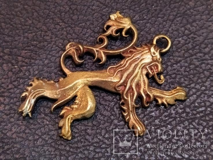 Дракон необычный коллекционная миниатюра бронза, фото №4