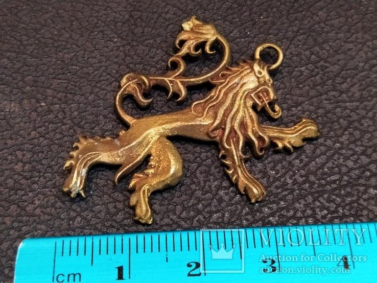 Дракон необычный коллекционная миниатюра бронза, фото №5