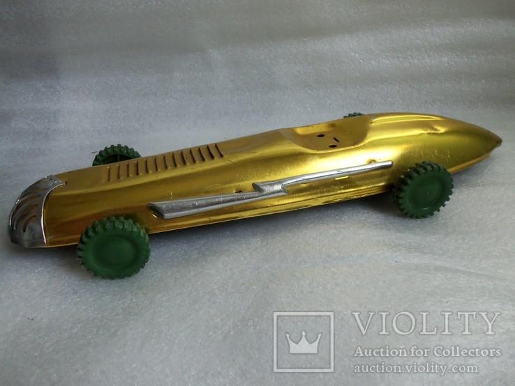 Спортивная гоночная машина. Металл, 33 см., фото №5