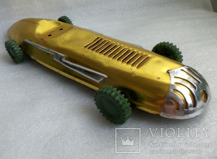 Спортивная гоночная машина. Металл, 33 см., фото №12