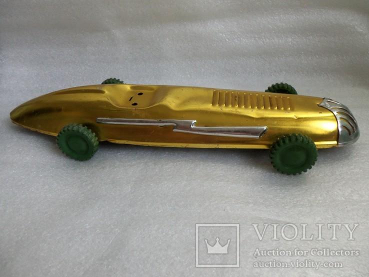 Спортивная гоночная машина. Металл, 33 см., фото №13